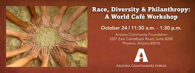 Race, Diversity and Philanthropy: A World Café Workshop
